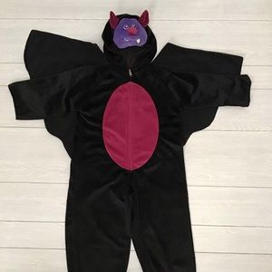 Chosun Unisex Plush Bat Costume sz 6-7